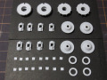 CLAY models P002C 1/24 956 Brake/Wheel Cover set ver.C