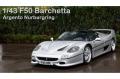 ** 予約商品 ** SCM Model CM801S 1/43 Ferrari F50 Barchetta Argento Nurburgring Limited 30pcs