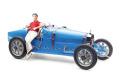 ** 予約商品 ** CMC M-100-B018 1/18 Bugatti T35 1924 Bright blue Livery With a Female Racer Figurine Limited Edition 600 pcs
