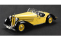 CMC M075A 1/18 アウディ 225 Front Roadster 1935 Yellow/Black