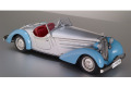 CMC M075B 1/18 Audi 225 Front Roadster 1935 Blue/Silver