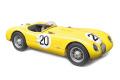 ** 予約商品 ** CMC M194 1/18 ジャガー C-Type 1953 (yellow) 24H France #20 Roger Laurent / Charles de Tornaco Limited Edition 1000 pcs