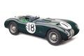 ** 予約商品 ** CMC M195 1/18 ジャガー C-Type1953 (British Racing Green) 24H France WINNER #18 Tony Rolt / Duncan Hamilton Limited Edition 1500 pcs