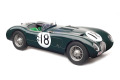 CMC M195 1/18 Jaguar C-Type1953 (British Racing Green) 24H France WINNER #18 Tony Rolt / Duncan Hamilton Limited Edition 1500 pcs