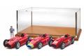 ** 予約商品 ** CMC M201 1/18 フェラーリ D50 3台セット Long nose GP Germany #1 Fangio + Short nose GP England #1 Fangio + Short nose GP Italy #26 Collins/Fangio + Showcase + Fangio Figure Limited Edition 200 pcs