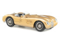 ** 予約商品 ** CMC M214 1/18 Jaguar C-Type 1952 CMC 25th Anniversary Edition (Gold) Limited 300pcs