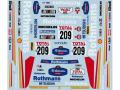 Museum collection D080 1/24 Mitsubishi Pajero 1992 Paris Dakarl Rally Rothmans Decal 【メール便可】