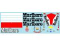 Museum collection D1005 1/20 Ferrari F1-2000 Marlboro Decal (Tamiya) 【メール便可】