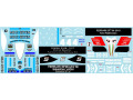 Museum collection D1007 1/43  F1 Machine Collection 7 (B194, P34, SF71H, SF90, BT55) Decal (DeAgostini) 【メール便可】