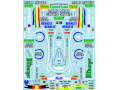 Museum collection D1011 1/20 Benetton B195 & Racing suit Decal (Academy) 【メール便可】