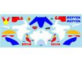 ** 予約商品 ** Museum collection D1015 1/43 Honda CRF1000L Repsol Decal (Spark) 【メール便可】