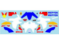 Museum collection D1015 1/43 Honda CRF1000L Repsol Decal (Spark) 【メール便可】