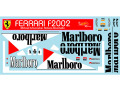 Museum collection D1018 1/18 Ferrari F2002 Marlboro Decal (Mattel) 【メール便可】