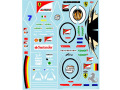 Museum collection D1021 1/20 Ferrari SF70H Driver Decal 【メール便可】