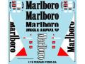 Museum collection D136 1/18 FerrariF2003-GA Marlboro Decal【メール便可】