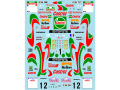 Museum collection D178 1/24 Toyota Cellica ST205 1995 Tdc & Newzealand Rally Decal 【メール便可】