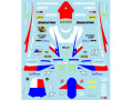 Museum collection D602 1/12 ヤマハYZR-M1 2010 テック3 USA-GP (タミヤ対応)【メール便可】