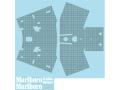 Museum collection D680 1/8 マクラーレン MP4/4 モノコックカーボンデカール(De対応)【メール便可】