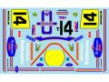 ** 予約商品 ** Museum collection D695 1/12 Honda NS500 1985 Katayama White Rothmans Decal (Tamiya) 【メール便可】