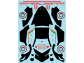 Museum collection D726 1/64 Lamborghini Veneno Carbon Decal(Kyosho) 【メール便可】