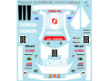 Museum collection D746 1/64 Ferrari 512BB 78Le Mans Decal(Kyosho)【メール便可】