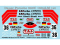 Museum collection D750 1/64 Dauer Porsche 962C 94 LM 1st Decal(Kyosho)【メール便可】