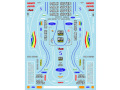 Museum collection D770 1/20 Benetton B194 Monaco GP 【メール便可】