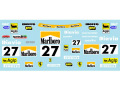 Museum collection D780 1/64 Ferrari F355 Challenge Press Decal(Kyosho)【メール便可】