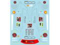 Museum collection D785 1/24 フェラーリ 458 J.フィジケラ FIAT500 (フジミ対応) 【メール便可】