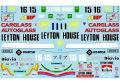 Museum collection D809 1/20 Leyton House CG901 (Tamiya) 【メール便可】