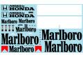 ** 予約商品 ** Museum collection D890 1/12 マクラーレンMP4/5用マルボロ (Top Marques対応) 【メール便可】