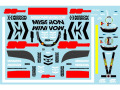 Museum collection D972 1/43 Ferrari SF90 MW & Japanese GP (Burago) 【メール便可】