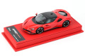 BBR Deluxe C228ADL Ferrari SF90 Stradale Rosso Corsa (Red Leather Base) Limited 45pcs