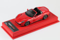 BBR Deluxe C233BDL Ferrari 812 GTS Rosso Corsa (Red Leather Base) Limited 20pcs