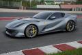 ** 予約商品 ** BBR Deluxe C259A2DL Ferrari 812 Competizione Coburn grey / horizontal racing giallo fly stripe