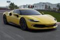 ** 予約商品 ** BBR Deluxe C264C1DL Ferrari 296GTB Giallo Modena / Carbon Wheels