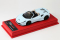BBR Deluxe CDL335 Ferrari F8 Spider Botticelli Blue (Red Leather Base) Limited 22pcs