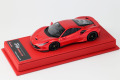 BBR Deluxe CDL300 Ferrari F8 Tributo F1-2007 Red Met (Red Leather Base) Limited 35pcs