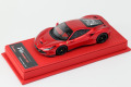 BBR Deluxe CDL302 Ferrari F8 Tributo Rosso Fuoco (Red Leather Base) Limited 27pcs