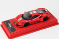 BBR Deluxe CDL310A Ferrari 488 Pista F1-2007 Red (with Stripe) Limited 38pcs