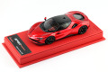 BBR Deluxe CDL327A Ferrari SF90 Stradale F1-2007 Red (Red Leather Base) Limited 25pcs