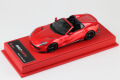 BBR Deluxe CDL334A Ferrari 812 GTS F1-2007 Red (Red Leather Base) Limited 25pcs