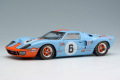 ** 予約商品 ** EIDOLON EM290A Ford GT40 Gulf Racing J.W.Automotive 24h Le Mans 1969 n.6 Winner