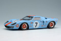 ** 予約商品 ** EIDOLON EM290B Ford GT40 Gulf Racing J.W.Automotive 24h Le Mans 1969 n.7