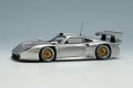 ** 予約商品 ** EIDOLON EM329D Porsche 911GT1 EVO 1997 Silver Limited 60pcs