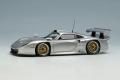 EIDOLON EM329D Porsche 911GT1 EVO 1997 Silver Limited 60pcs