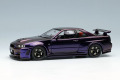 ** 予約商品 ** EIDOLON EM396E Nismo R34 GT-R Z-tune Mid Night Purple 3