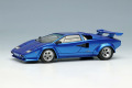 ** 予約商品 ** EIDOLON EM432F Lamborghini Countach LP400S 1989 with Rear Wing Metallic Blue