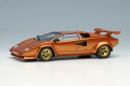 ** 予約商品 ** EIDOLON EM432G Lamborghini Countach LP400S 1989 with Rear Wing Metallic Orange Limited 30pcs
