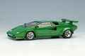 ** 予約商品 ** EIDOLON EM432H Lamborghini Countach LP400S 1989 with Rear Wing Metallic Green Limited 30pcs